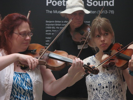 London Fiddle School at British Library