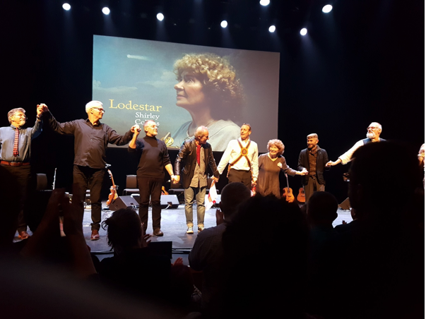 Shirley Collins and band at The Barbican