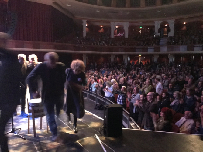 End-of-tour standing ovation at The Dome, Brighton