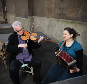 Pete Cooper and Eliza Carthy